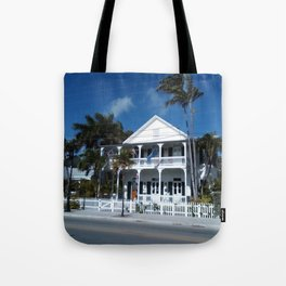 White house, Key west. Tote Bag