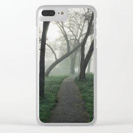 // limbo + stranger // Clear iPhone Case