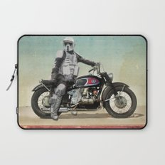 Looking for the drones, Scout Trooper Motorbike Laptop Sleeve