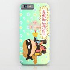 Cupcake woman iPhone 6s Slim Case