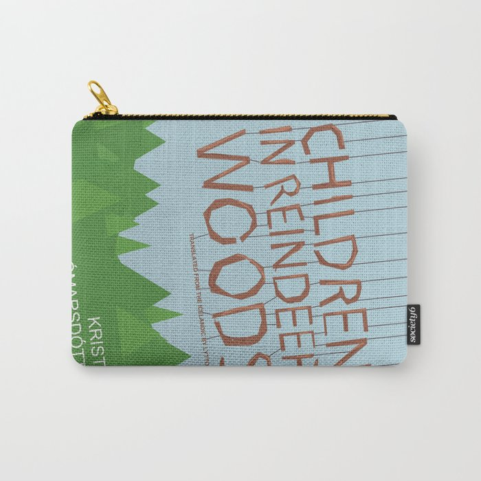 Children in Reindeer Woods Carry-All Pouch