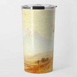 Mount Hood 1863 By Albert Bierstadt   Reproduction Painting Travel Mug