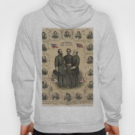 Four versions of the Flags of the Confederacy Hoody