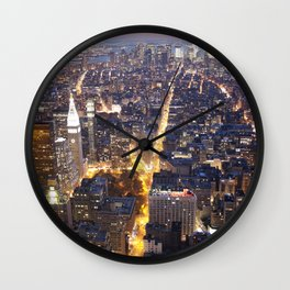 NYC FIRE Wall Clock