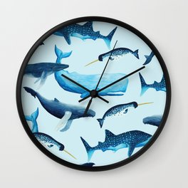 Creatures of the Seas Wall Clock