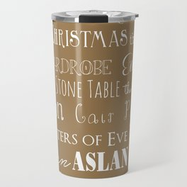 Narnia Celebration - Tortilla Travel Mug