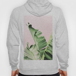 Banana Leaf on pink Hoody