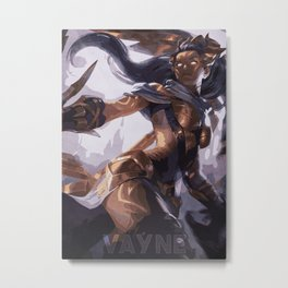 Vayne Metal Print