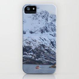 Lone sailor iPhone Case
