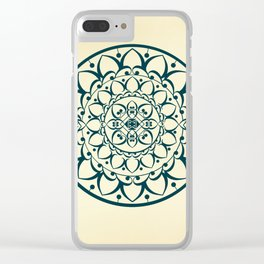 Mandala Illustration Clear iPhone Case