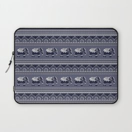 Ethnic pattern/ Elephants Laptop Sleeve