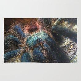 Greenbottle Blue Tarantula Rug