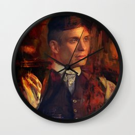 Tommy Shelby Wall Clock