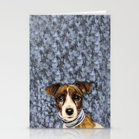 rocky Stationery Cards featuring Rocky by dogface photography