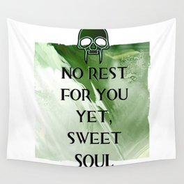 No Rest Wall Tapestry