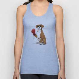The Boxer Unisex Tank Top