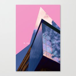 Glasgow Above 06 Canvas Print
