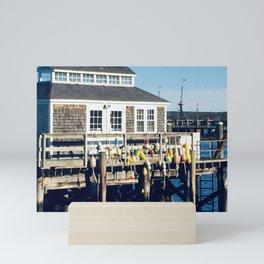Scituate Wharf Mini Art Print
