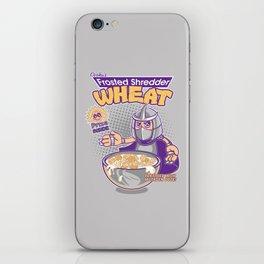 Shredder Wheat iPhone Skin