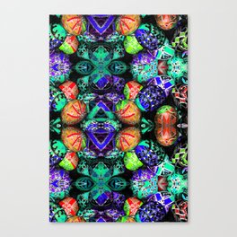 Painted Eggs (ID427) Canvas Print