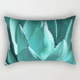 Aloe Vera Close Rectangular Pillow