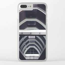 Airport Ceiling Clear iPhone Case