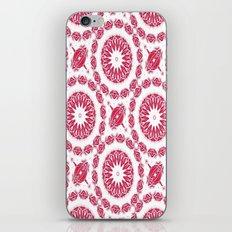 Ruby Mandala Tile iPhone & iPod Skin