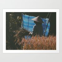 indonesia Art Prints featuring Bali, Indonesia  by Chase Hunter