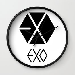Exo Logo Wall Clock