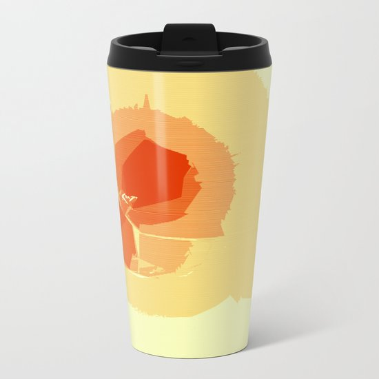 Moon Lamp Metal Travel Mug
