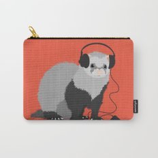 Music Loving Ferret Carry-All Pouch