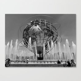 A Dramatic Summer Afternoon in Queens Canvas Print