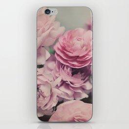 quiet ranunculus iPhone Skin