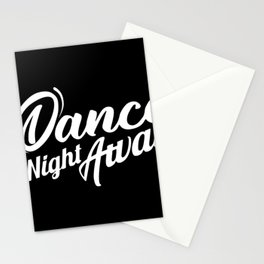 Dance the night away Twice Stationery Cards