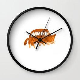 Cat Bus IRL Wall Clock