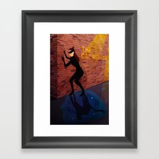 The Catwoman Framed Art Print