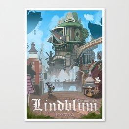 Final Fantasy IX - Lindblum Canvas Print
