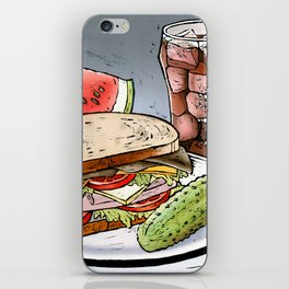 Sandwich iPhone Skin