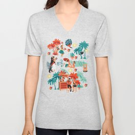 Resort living Unisex V-Neck