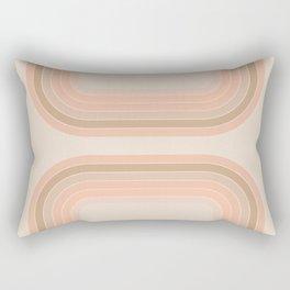 Soft Light Tunnel Rectangular Pillow