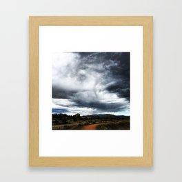Santa Fe Sky Framed Art Print