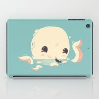 discount iPad Cases featuring Adorable Octopus Battle by Ryder Doty