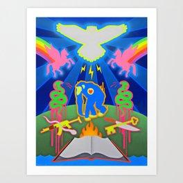 """THE PRIMATE PARADOX""  Art Print"