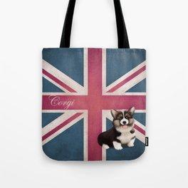 Royal Corgi Baby Tote Bag