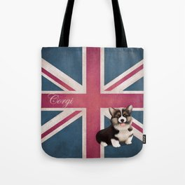 Royal Corgi Baby Tote Bag