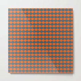 Moroccan Me Crazy Seamless Pattern Metal Print