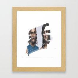 Bea & Franky Framed Art Print