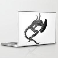 prometheus Laptop & iPad Skins featuring Alien by Carla Beltra