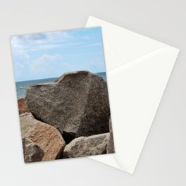 Heart-Shaped Rock Stationery Cards