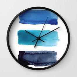 01 blues before sunrise Wall Clock